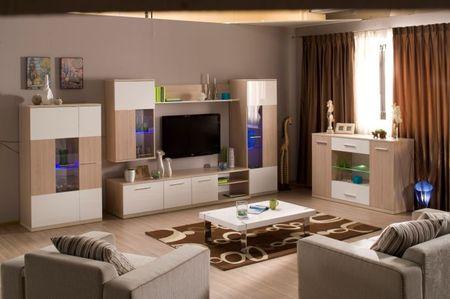 Как подобрать мебель для гостиной в экостиле