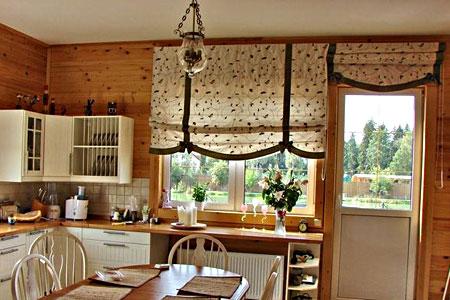 Как не ошибиться в выборе шторы на кухню