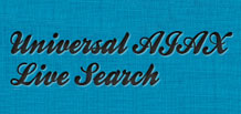 Universal AJAX Live Search