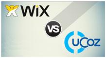 wix vs ucoz