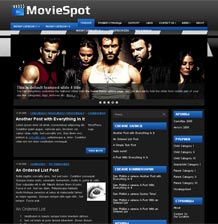 Тема WordPress - MovieSpot